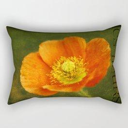 Les Fleurs Rectangular Pillow