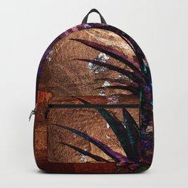 Copper Leaf Pineapple Art #buyart Backpack