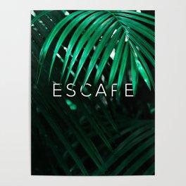 Escape into the Jungle Poster