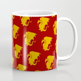 Multi Pendragon Wyvern Coffee Mug