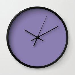 Color I - Charmed Violet Wall Clock