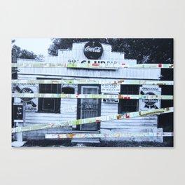 American Shut Down Canvas Print