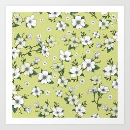 Lovable Flowers 22 Art Print