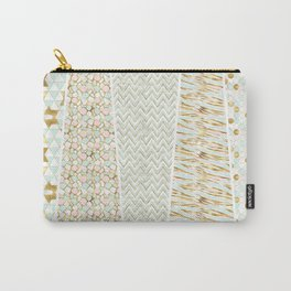 Mint & Gold - yeoseot Carry-All Pouch