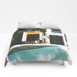after a few days pretending Comforters