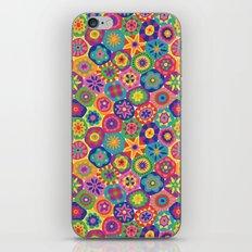 Millefiori-Crayon Colors iPhone & iPod Skin
