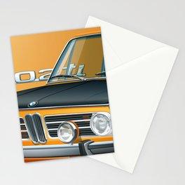 BMW 2002 ti Alpine from 1968 Stationery Cards
