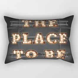 The Place to Be - Bulb Rectangular Pillow