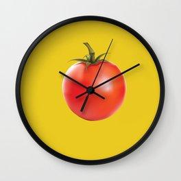 Tomato Wall Clock