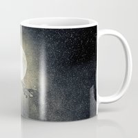 airplanes Mugs featuring Chapter V by Viviana Gonzalez