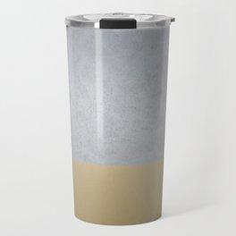 Concrete Gold Travel Mug
