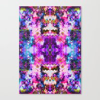 trippy Canvas Prints featuring Trippy by Padi Patt