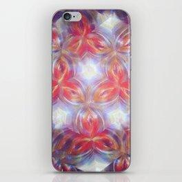 Kaleidoscope flower iPhone Skin