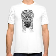 Jaw Lock Mens Fitted Tee White MEDIUM
