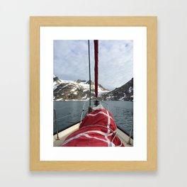 Wrapped Sail  Framed Art Print