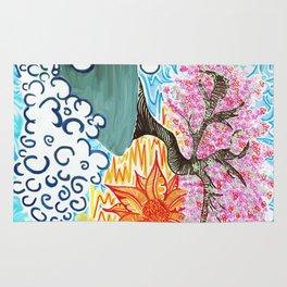 Cherry Blossoms Rug