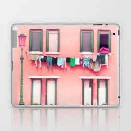 Laundry Venice Italy Travel Photography Laptop & iPad Skin