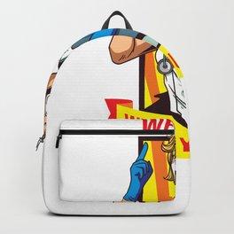 Cool Nurse Are Heroes Sick Nurse Hero Design Backpack