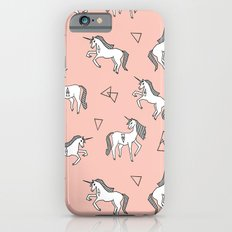 Unicorn Love - Pink by Andrea Lauren iPhone 6 Slim Case
