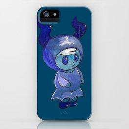 Moonkhin 4 (Iridum Indigo) iPhone Case