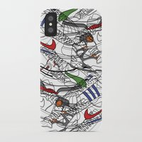 sneakers iPhone & iPod Cases featuring Sneakers by Adikt