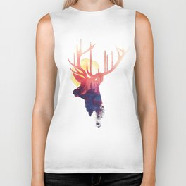The burning sun Biker Tank
