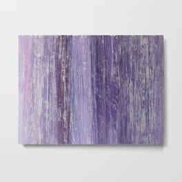 Purple Woodland Metal Print