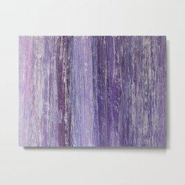 Purple Woodland Metal Print