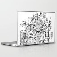 chihiro Laptop & iPad Skins featuring Island by Sandra Ink