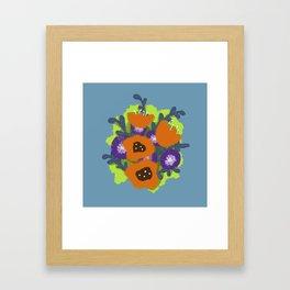 Bouquet #2 Framed Art Print