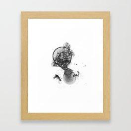 planet birth Framed Art Print