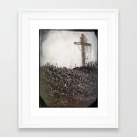 cross Framed Art Prints featuring Cross by Jean-François Dupuis