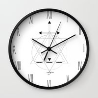 religion Wall Clocks featuring Religion (M.C) by Eleaxart