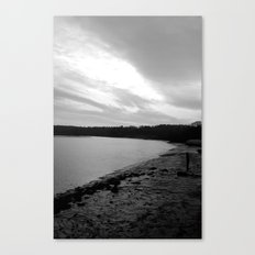 Dark River Canvas Print