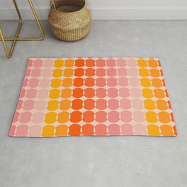 Strawberry Dots Rug