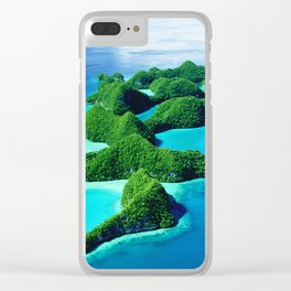 Glimpses of Heaven: Palau 70 Islands In Micronesia Clear iPhone Case