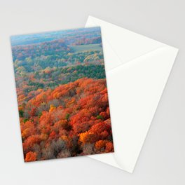 Autumn Mountain View Stationery Cards