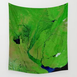Floods in Argentina Wall Tapestry