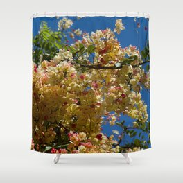 Wilhelmina Tenney Rainbow Shower Tree Shower Curtain