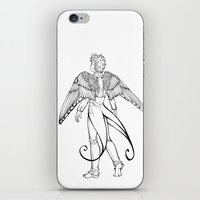 swallow iPhone & iPod Skins featuring swallow by cynamon