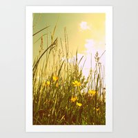 country Art Prints featuring Country by Natalie Reed