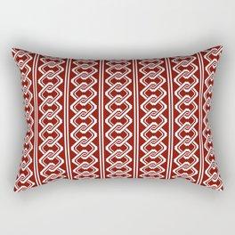 """""""Komochiyoshiwara"""" Japanese traditional pattern Rectangular Pillow"""