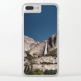 Yosemite Falls VII Clear iPhone Case