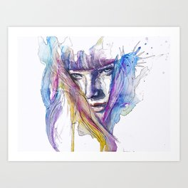 Na Dathanna i mo Chuid Gruaige Art Print