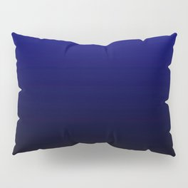 Black highlight blue Pillow Sham