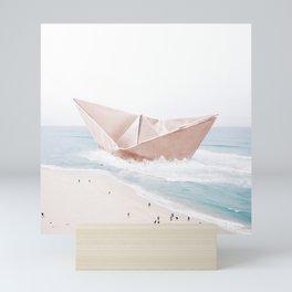 Let's sail away Mini Art Print