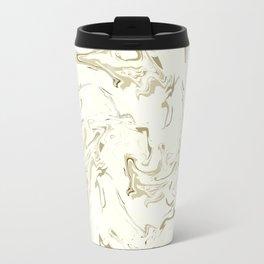 Marbled texture Travel Mug