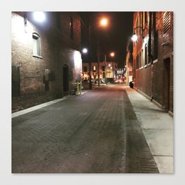 Downtown Alley Canvas Print
