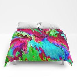 Abstact D Comforters