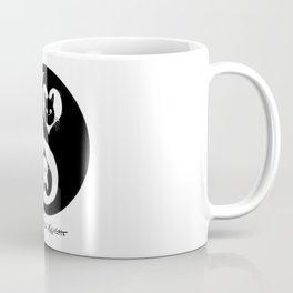 Ying Yang Kitty Valentines Day Balance Purfection :) Coffee Mug